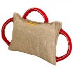 Cane Corso Bite Pad made of Jute with 3 Handles for Training Your Pet