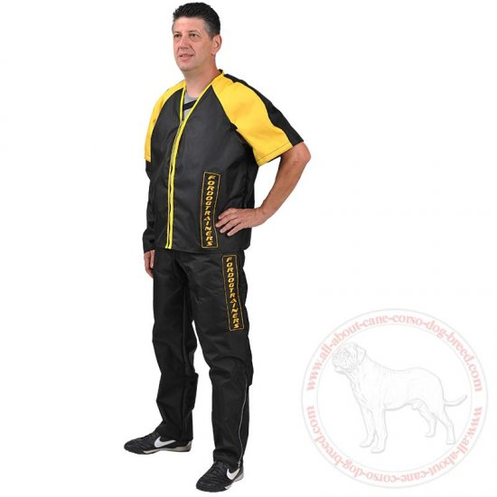 Protection Scratch Suit for Dog Training - Get FREE Bite Developer pbb3 ($44.90 VALUE)