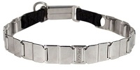 "FUN-19"" STAINLESS STEEL dog collar NECK TECH COLLAR Cane Corso"