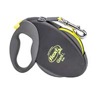"""Pleasant Walk"" Cane Corso Retractable Leash - Medium size"