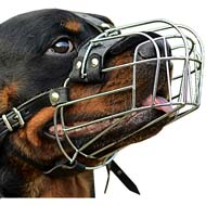 Classic Wire Basket Dog Muzzle Light for Noble Rottweiler Dogs