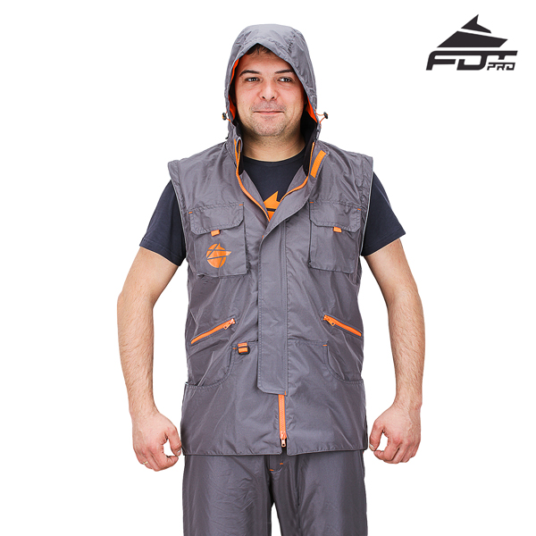 FDT Professional Design Dog Tracking Jacket of Fine Quality Materials
