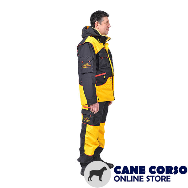 Handy Training Bite Suit with a Number of Pockets