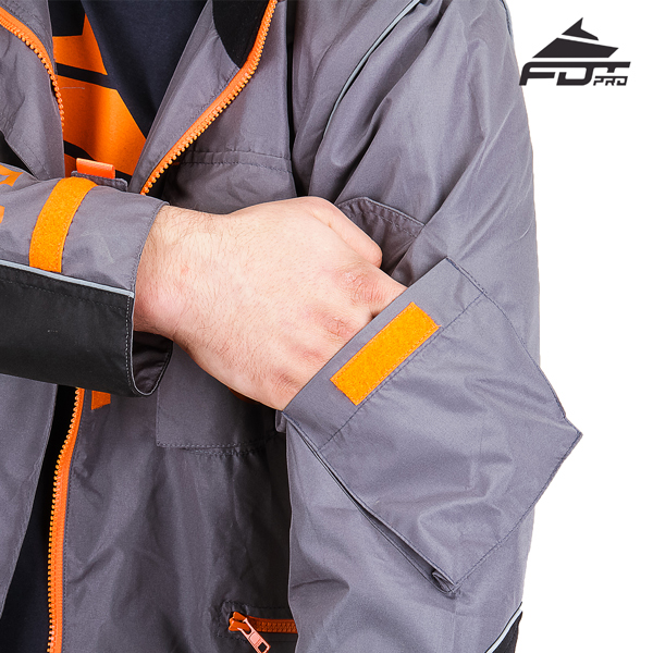 FDT Pro Design Dog Tracking Jacket with Comfortable Sleeve Pocket