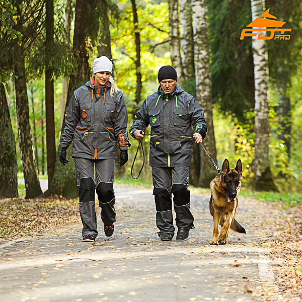 Any Weather Use Durable Dog Training Suit for Men and Women