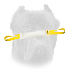 Quality Cane Corso tug made of real fire hose     with two handles