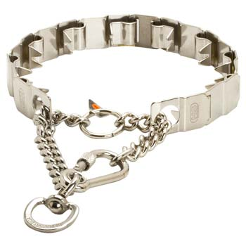 Stainless Steel Neck Tech Prong Collar