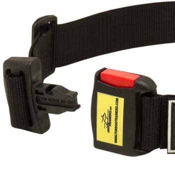 Easy adjustable dog collar made of first-class nylon