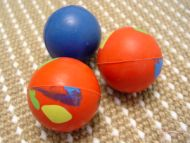 Excellent Solid Crazy Color Rubber Ball