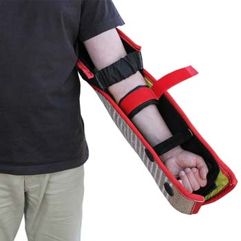 Jute bite sleeve for dog bite work offers good mobility because of the handles