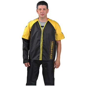 Jacket and scratch pants for protection