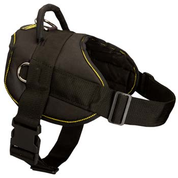 Advanced design nylon dog harness for Great Dane