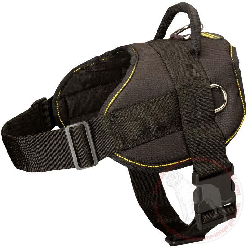 Light Weight Nylon Pulling Cane Corso Harness Tracking/Walking Nylon ...