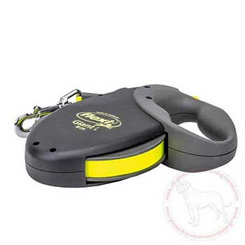 Reflective flexi Cane Corso retractable leash
