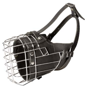 Top quality wire dog muzzle